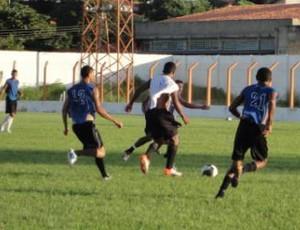 Cori-Sabbá - treino (Foto: Divulgação)
