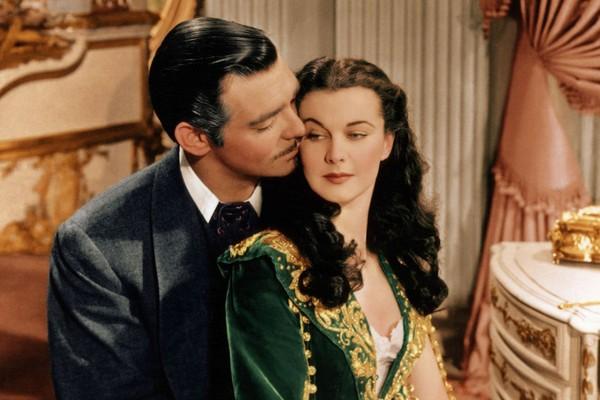 Vivien Leigh e Clark Gable em ...E o Vento Levou (1939) (Foto: Reprodução)
