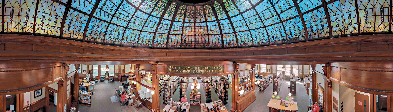 6 bibliotecas impressionantes dos Estados Unidos