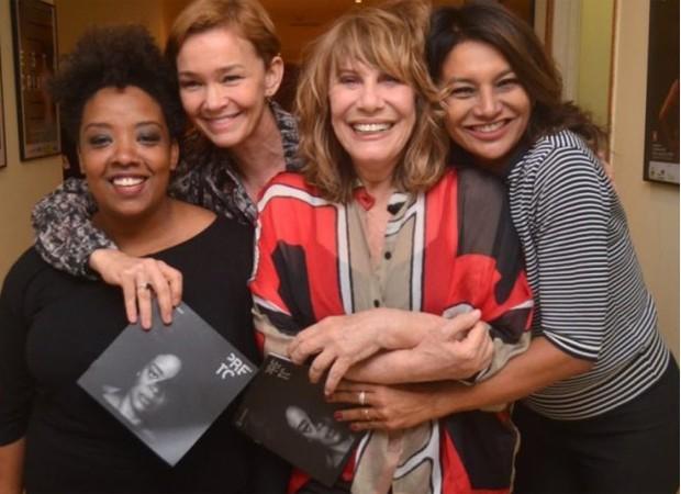 Grace Passô, Julia Lemmertz, Renata Sorrah e Dira Paes (Foto: Ag News)