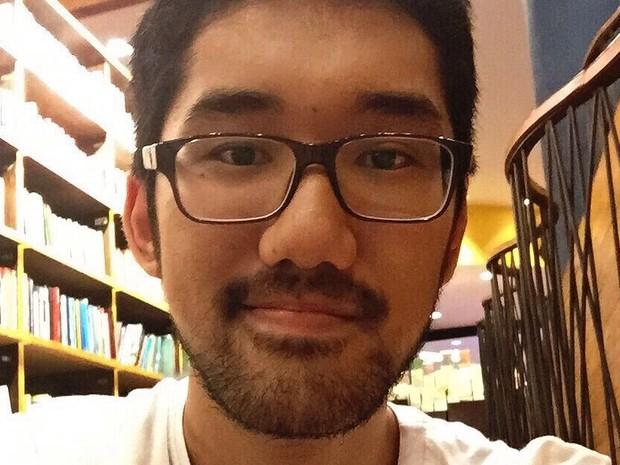 Caio Koga, de 19 anos, que tirou nota máxima (1.000) na redação do Enem 2015 (Foto: Arquivo Pessoal)