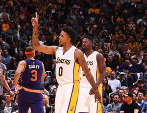 Jordan Clarkson, Nick Young, Lakers, NBA, basquete (Foto: Getty Images)