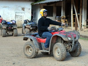 ATV off-road adventure in Monte Verde