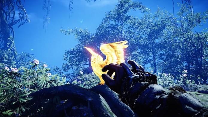 Far Cry Primal: use a coruja para mapear a área (Foto: Reprodução/Victor Teixeira)