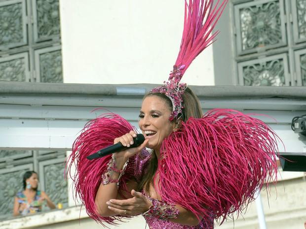 Ivete Sangalo no carnaval de Salvador (Foto: Jefferson Peixoto/Ag. Haack)