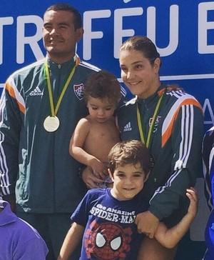Juliana Veloso filhos Troféu Brasil de Saltos (Foto: Reprodução / Instagram)