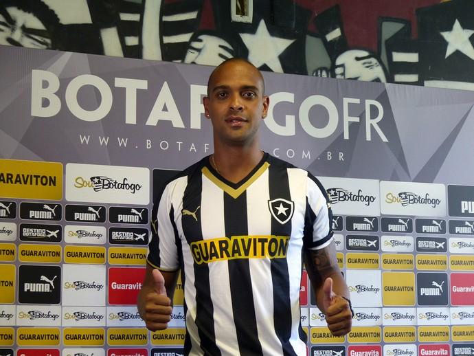 Tássio, Apresentação Botafogo (Foto: Sofia Miranda)