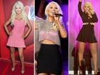Com 20 quilos a menos, Christina Aguilera abusa de looks sensuais