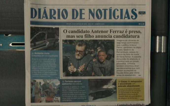 Jornal mostra acontecimentos da última semana (Foto: TV Globo)