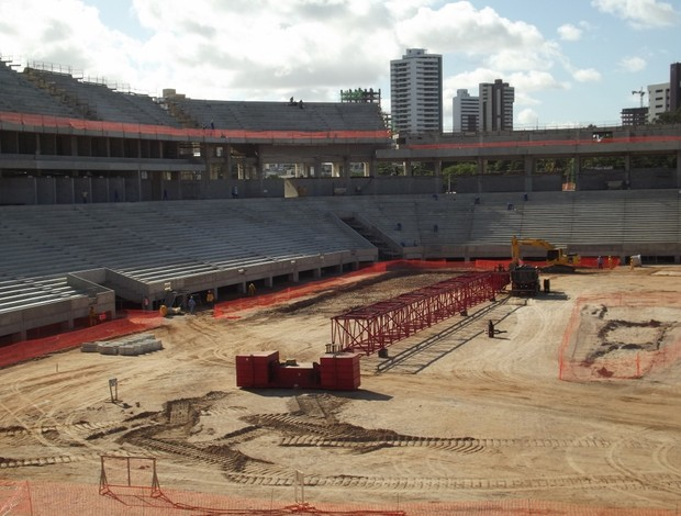 Arena das Dunas -  29 de maio de 2013 (Foto: Jocaff Souza)