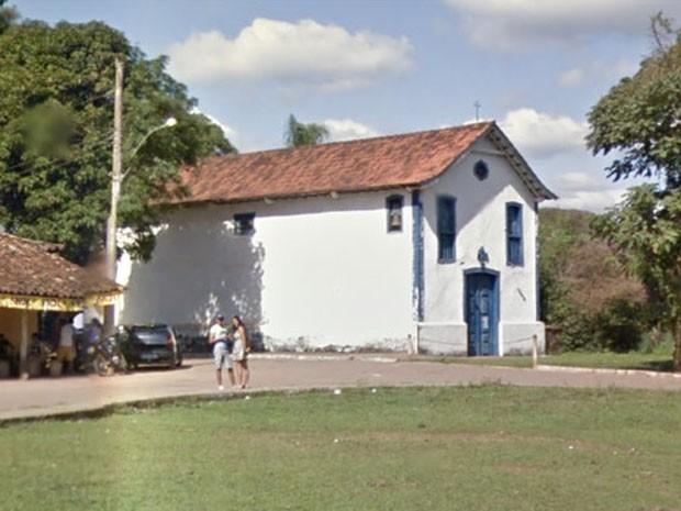 Igrejinha de São Bento foi soterrada pela lama, diz Ministério Público (Foto: Google/Reprodução)