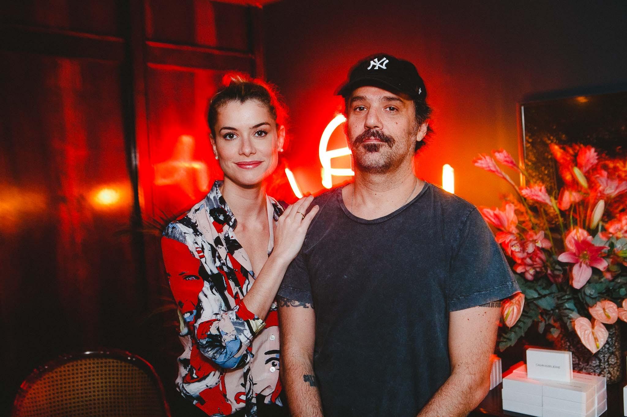 Aline Moraes e Mauro Lima  (Foto: Divulgação)