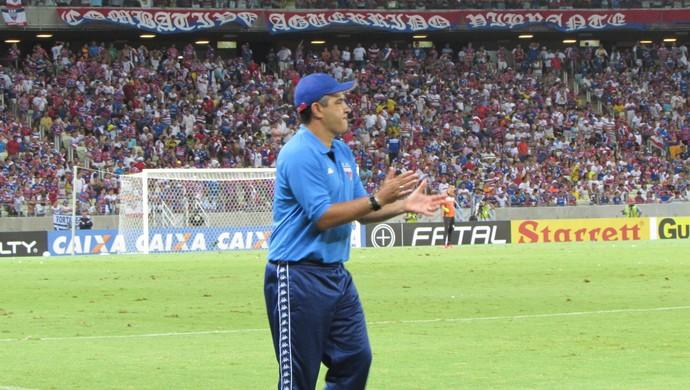 Marcelo, Chamusca, técnico, Fortaleza, Macaé (Foto: Juscelino Filho)