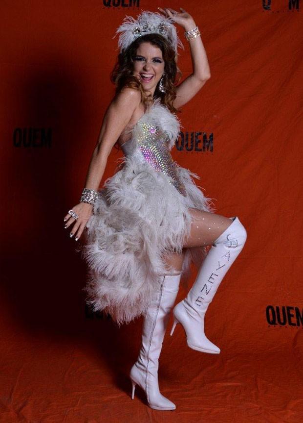 Cláudia Abreu não deixou de ser Chayenne (Foto: QUEM)