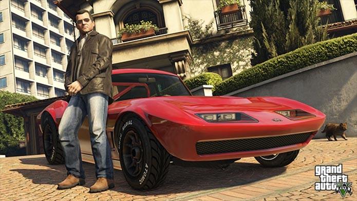 Versão PC de GTA 5 chega somente em janeiro (Foto: Divulgação)