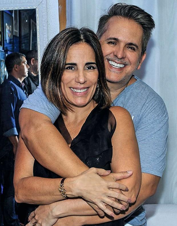 Orlando Morais e Gloria Pires (Foto: .)