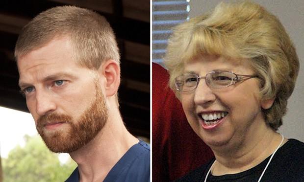 Americanos Kent Brantly e Nancy Writebol receberam droga experimental contra ebola  (Foto: AFP Photo/Samaritan's Purse/Joni Byker/SIM/Handout)