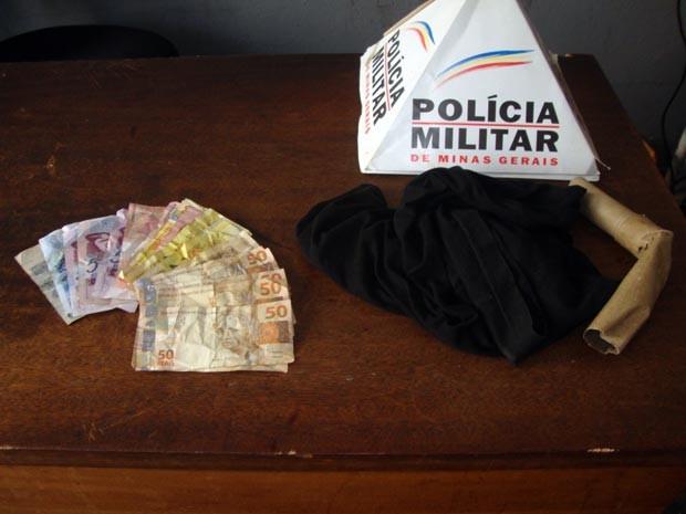 assaltantes dupla assalto Pará de Minas MG (Foto: Polícia Militar/Divulgação)