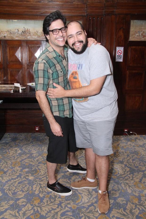 Lucio Mauro Filho e Tiago Abravanel (Foto: Thyago Andrade / Brazilnews)