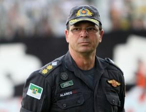 Coronel Alarico Azevedo, subcomandante do Policiamento Metropolitano (Foto: Canindé Soares)
