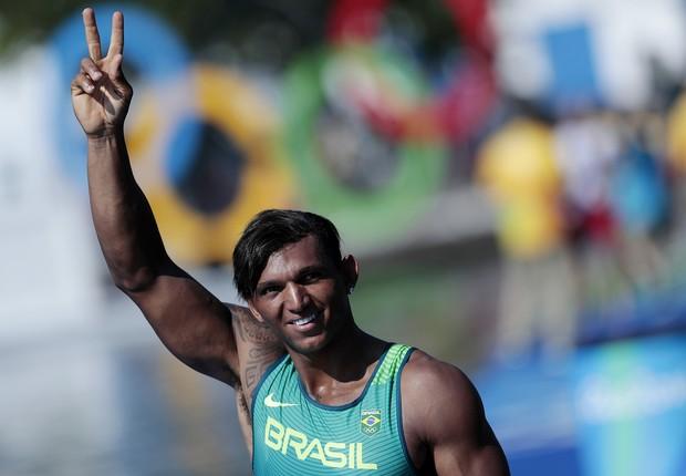 Isaquias Queiroz, que já venceu duas medalhas na canoagem (Foto: Divulgação)