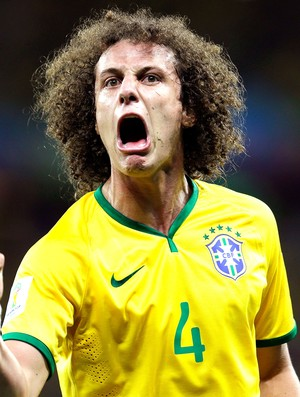David Luiz comemoração Brasil