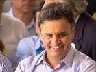 Aécio Neves admite que usou aeroporto de Cláudio (MG)