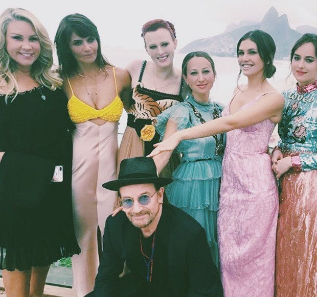 Karen Elson, Jennifer Meyer, Helena Christensen, Bono Vox, Dakota Johnson, Dasha Zhukova, Heather Parry,  (Foto: Reprodução / Instagram)