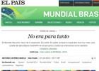 Pessimismo era exagerado, diz 'El País' (Reprodução)