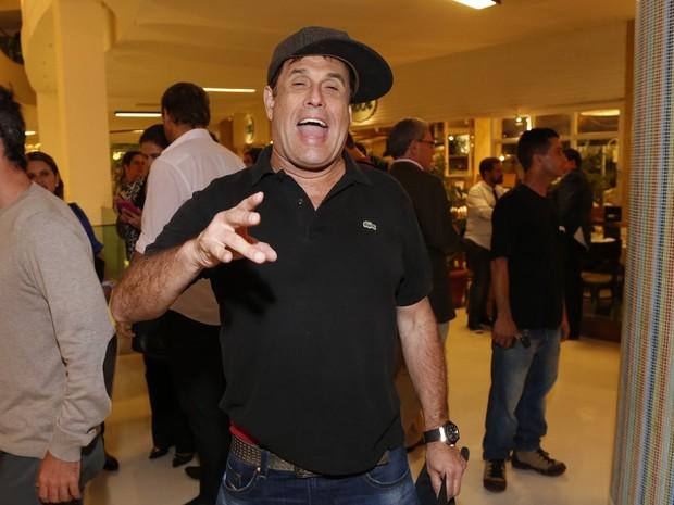 Sérgio Mallandro em pré-estreia de filme no Rio (Foto: Felipe Assumpção/ Ag. News)