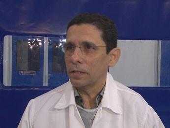 Luiz Amorim, diretor de Produtos da Hemobrás (Foto: Reprodução/ TV Globo)