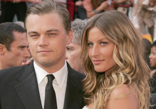 Leonardo DiCaprio e Gisele Bündchen (Foto: Getty Images)