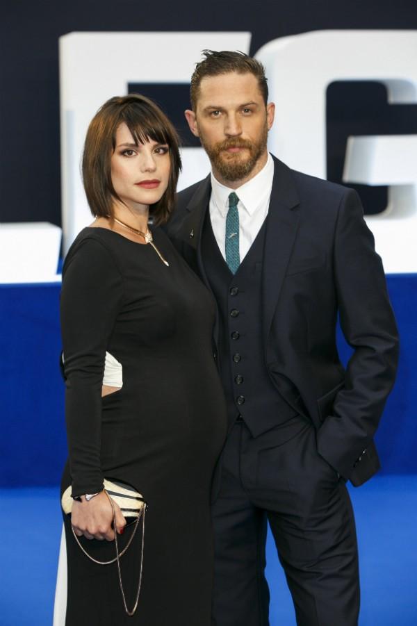Tom Hardy já tem um filho de sete anos e será pai novamente (Foto: Getty Images/Reprodução)