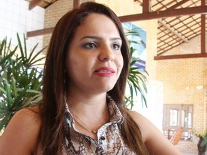 Prefeita de Areia Branca, Luana Bruno foi cassada  (Foto: Cezar Alves)