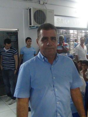 Raimundo Tavares, presidente do conselho do CSA (Foto: Leonardo Freire)