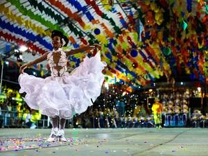 Quadrilhas Juninas vão disputar a etapa estadual do festival (Foto: Rafael Passos/Secom-JP)