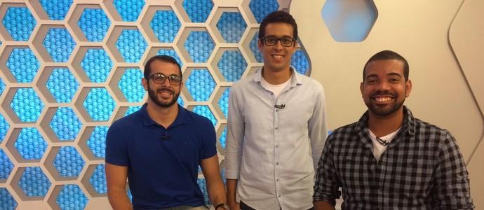 Ba-Vi em Pauta; Ruan Melo; Raphael Carneiro; Rafael Santana (Foto: Tamires Fukutani)