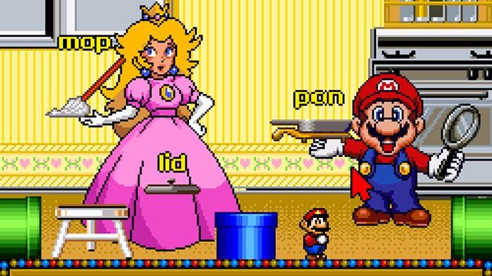 Mario e seus amigos ajudavam crianças a aprender sobre letras, números e mais em diversas situações (Foto: Reprodução/Tumblr)