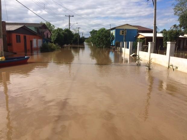 São Jerônimo, rs, chuva (Foto: Jonas Campos/RBS TV)