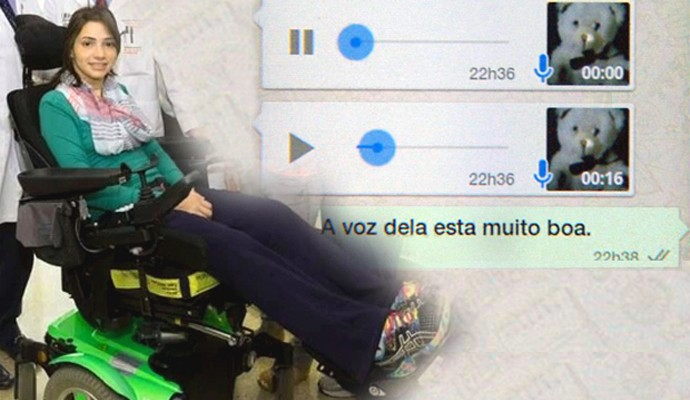 Lais Souza mensagem (Foto: Arte Globoesporte.com)