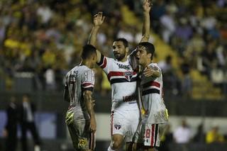 São Paulo x Novorizontino Gilberto (Foto: Rubens Chiri / saopaulofc.net)