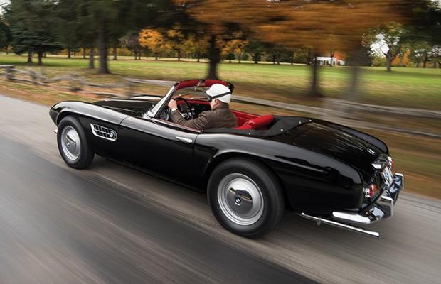 Desenhado pelo conde Goertz, 507 é um dos mais belos da história da BMW (Foto: Divulgação)