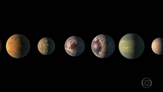 Nasa identifica 7 planetas com tamanho similar ao da Terra