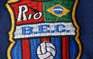 escudo Barcelona do Rio de Janeiro (Foto: Alexandre Durão / Globoesporte.com)