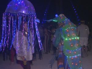 PREP_Burning Man (Foto: TV Globo)