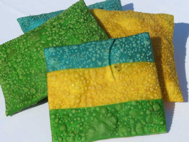 Pastéis serão vendidos apenas durante a Copa do Mundo, em 2014 (Foto: Rubiane Mello/Arquivo Pessoal)