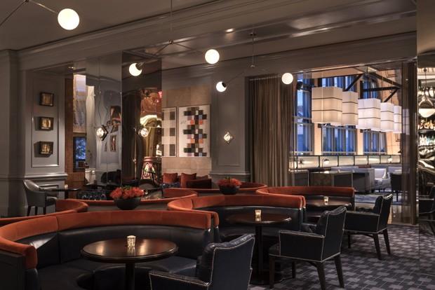 Bar em Atlanta tem projeto inspirado em Wes Anderson (Foto: Divulgação)