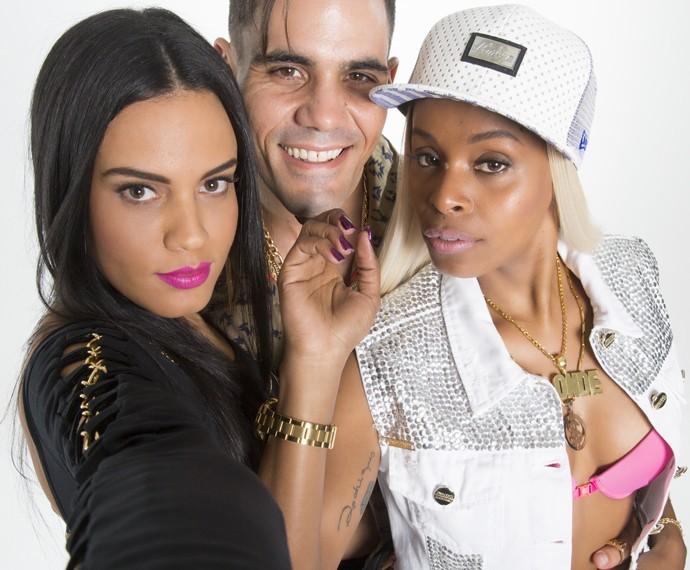 Letícia Lima, Juliano Cazarré e Roberta Rodrigues (Foto: Beto Roma)