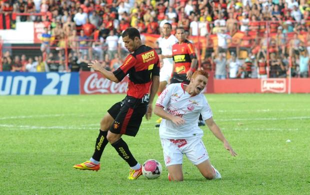 Souza - Rivaldo - Sport - Náutico (Foto: Aldo Carneiro)