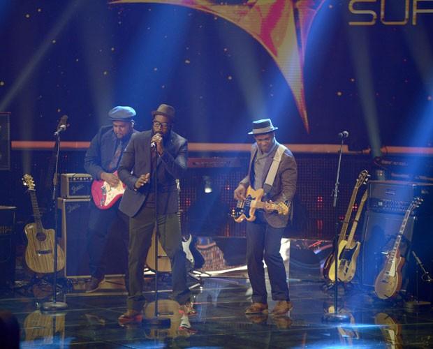 Apresentação da The Soul Sessions na noite de Duelos (Foto: Camila Serejo/TV Globo)